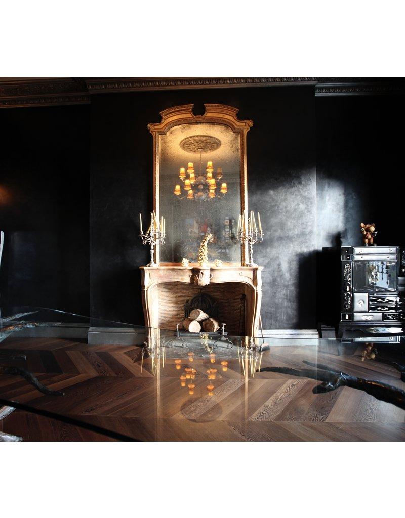 The Antique Fireplace Bank Belgischer Rot Terrakotta Kamin Verkleidung