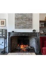 Maison Leon Van den Bogaert Antique Fireplaces & Vintage Architectural Elements Antique Belgian Grey Terra Cotta Firebrick