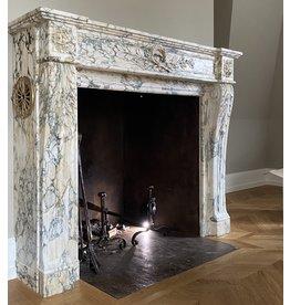The Antique Fireplace Bank Cast Iron Interior Set