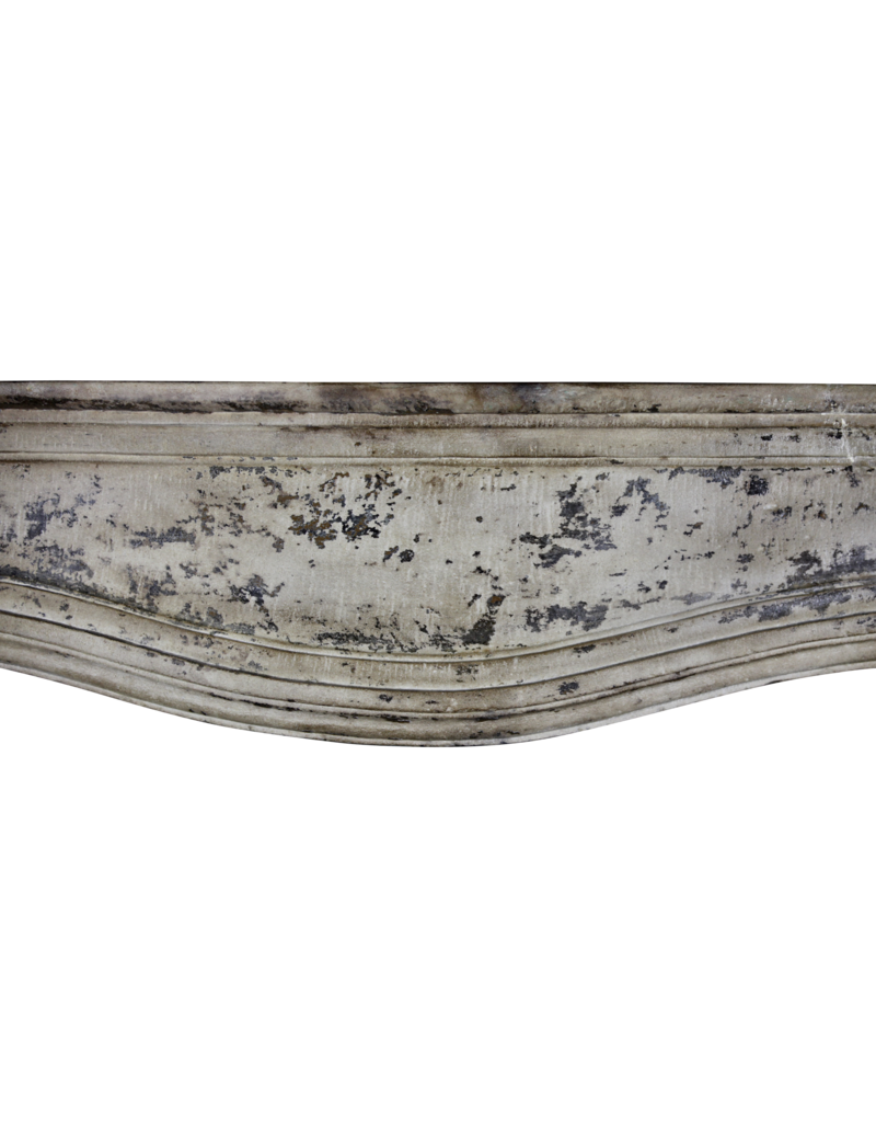 The Antique Fireplace Bank Louis XIV Period Vintage Fireplace Mantle