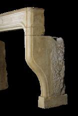 The Antique Fireplace Bank Großer antiker Kaminmaske