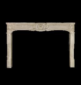 Large Limestone Fireplace Mantle