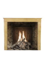 Bicolor French Vintage Fireplace Mantle