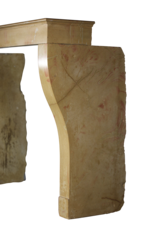 Zweifarbig Französisch Vintage Kamin Verkleidung