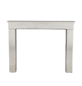 Maison Leon Van den Bogaert Antique Fireplaces & Vintage Architectural Elements White Limestone Fireplace Mantle