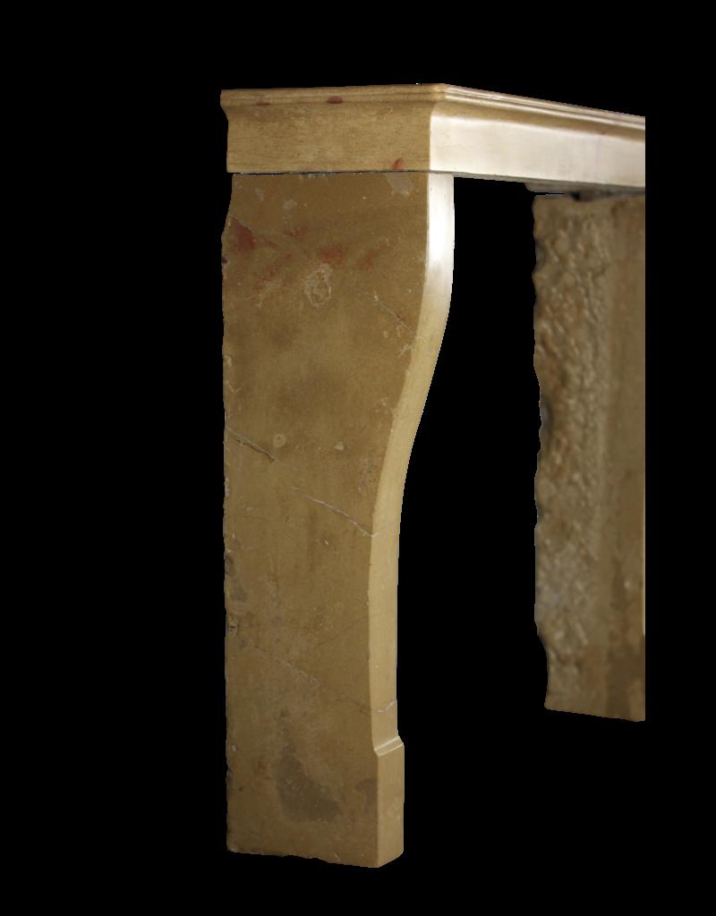 Französischer antiker Kaminmaske