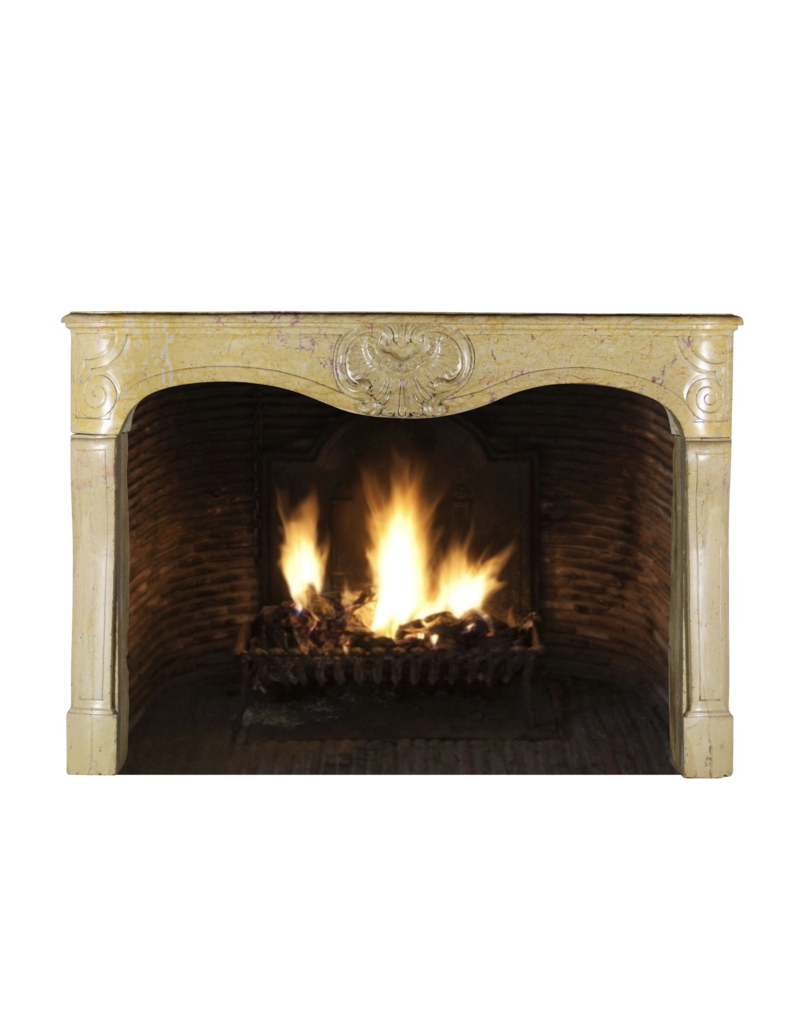 French Regency Period Fireplace Mantle