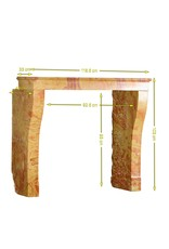 The Antique Fireplace Bank Creation By Nature