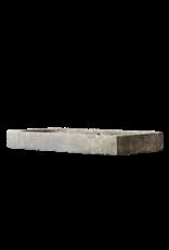Groß Vintage Kalkstein Waschbecken