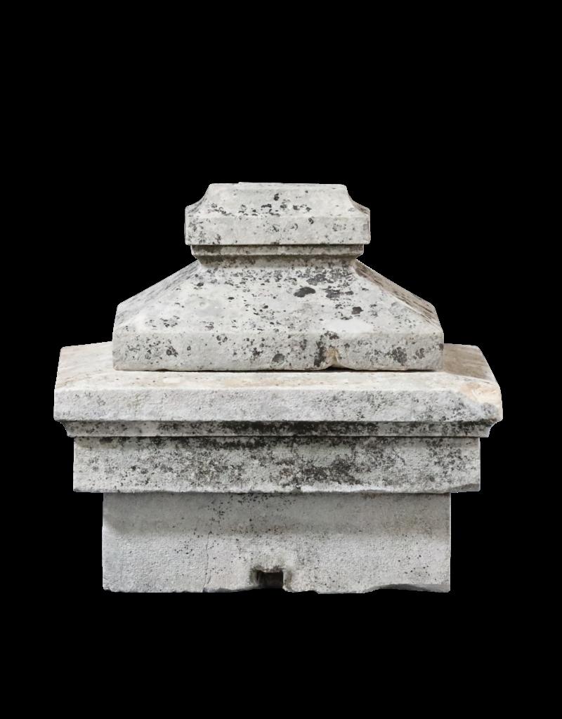 Limestone Column Headstone