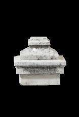 Kalkstein Säulen Grabstein