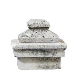 The Antique Fireplace Bank Limestone Column Headstone