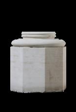 Limestone Column Base