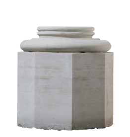 Limestone Column Base