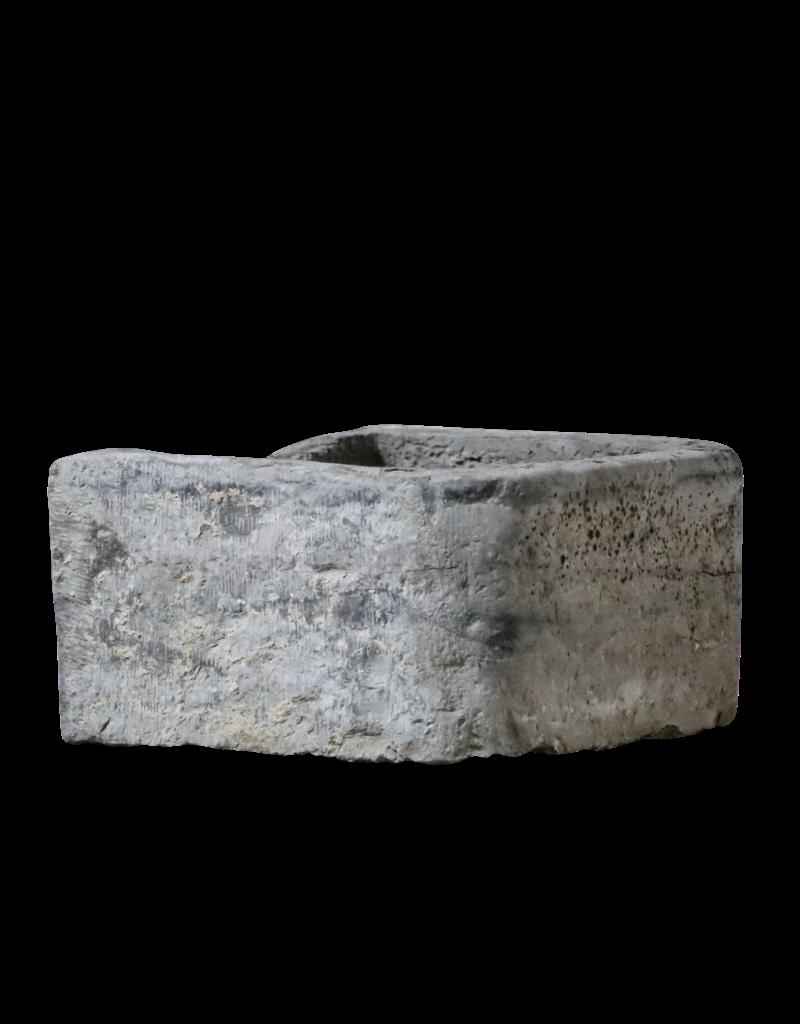 Comedero De Piedra De Mármol Negro Belga