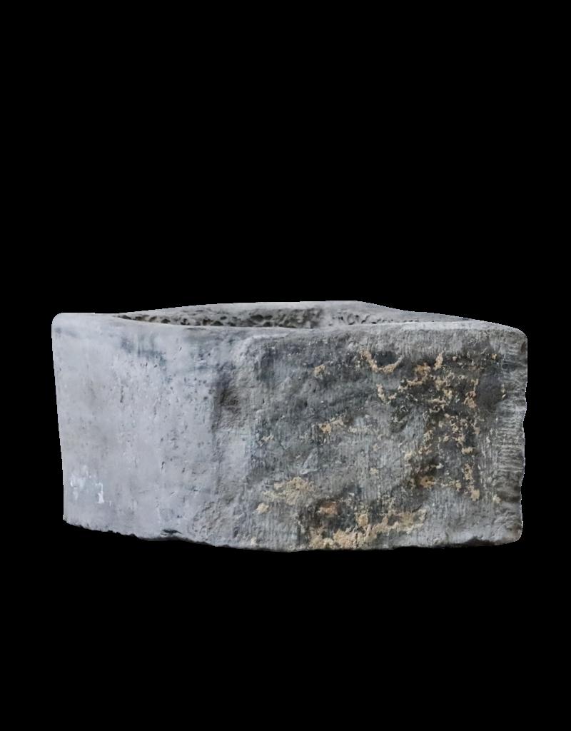 Belgian Black Marble Stone Trough