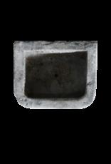 Belgischer schwarzer Antike Marmorsteintrog