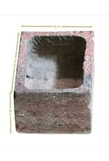 The Antique Fireplace Bank Belgisches Bleu Stein Waschbecken