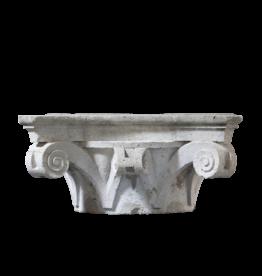 The Antique Fireplace Bank Lápida De Columna