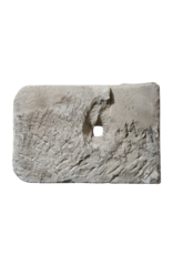 Rustikales Wandwaschbecken aus Kalkstein
