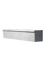 The Antique Fireplace Bank Carrara Marmor Waschbecken