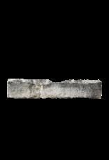 Fragmento De Comedero Antigua De Piedra Caliza Francesa Rústica