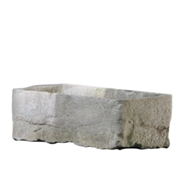 The Antique Fireplace Bank Vintage Trough In Limestone