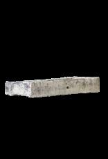 Fragmento De Comedero Antigua De Piedra Caliza Francesa Rústica En Piedra Caliza