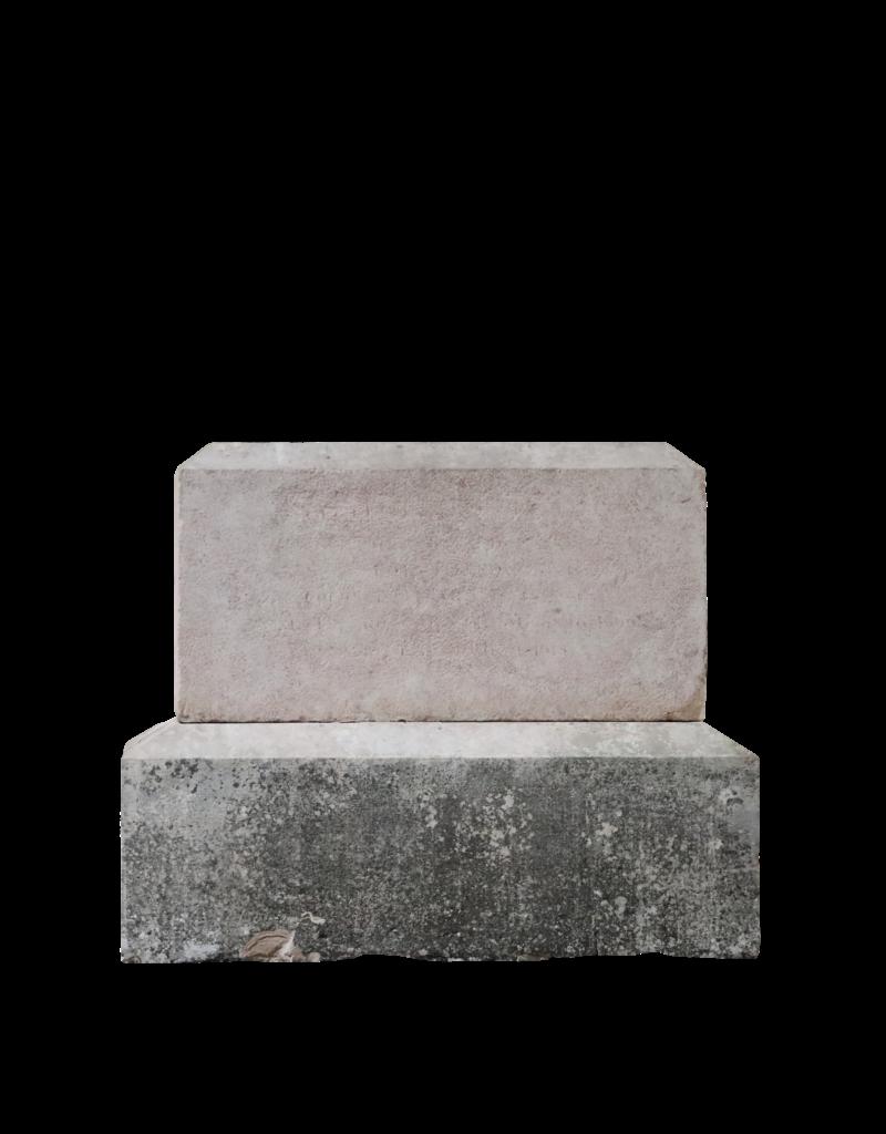 Bloque En Piedra Caliza Dura De Borgoña Francesa