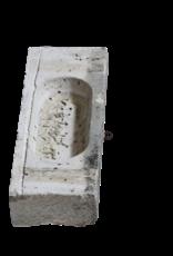The Antique Fireplace Bank Antiker Kalksteintrog
