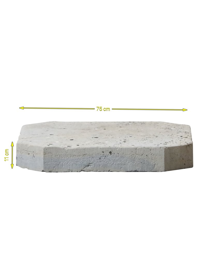 The Antique Fireplace Bank Bicolor Rustic Table Top