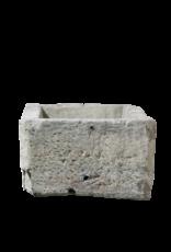 Comedero De Piedra Caliza Estilo Granja Francesa