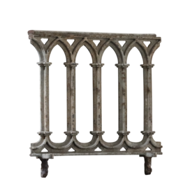 The Antique Fireplace Bank Cast Iron Balcony
