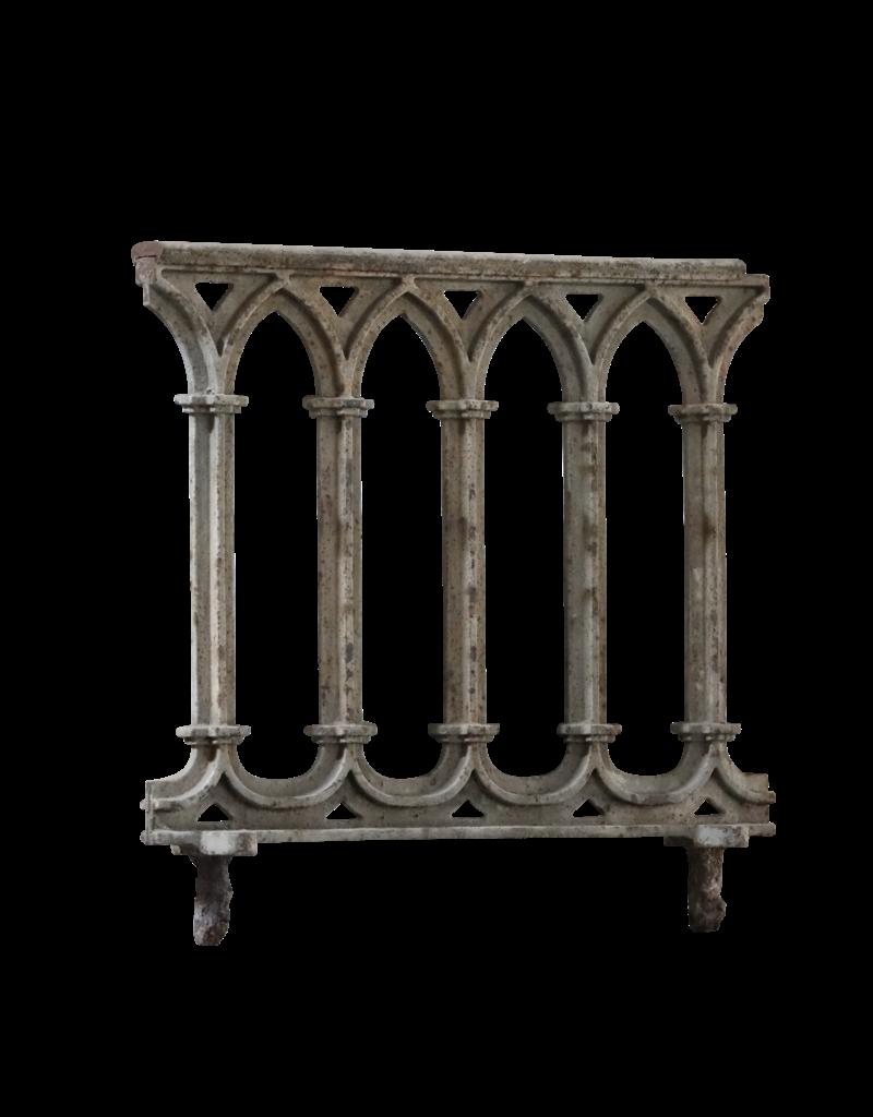 Maison Leon Van den Bogaert Antique Fireplaces & Vintage Architectural Elements Gothic Style Cast Iron Balcony