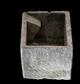 Waterbassin In Hard Limestone
