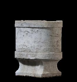 The Antique Fireplace Bank Historischer Eisbehälter