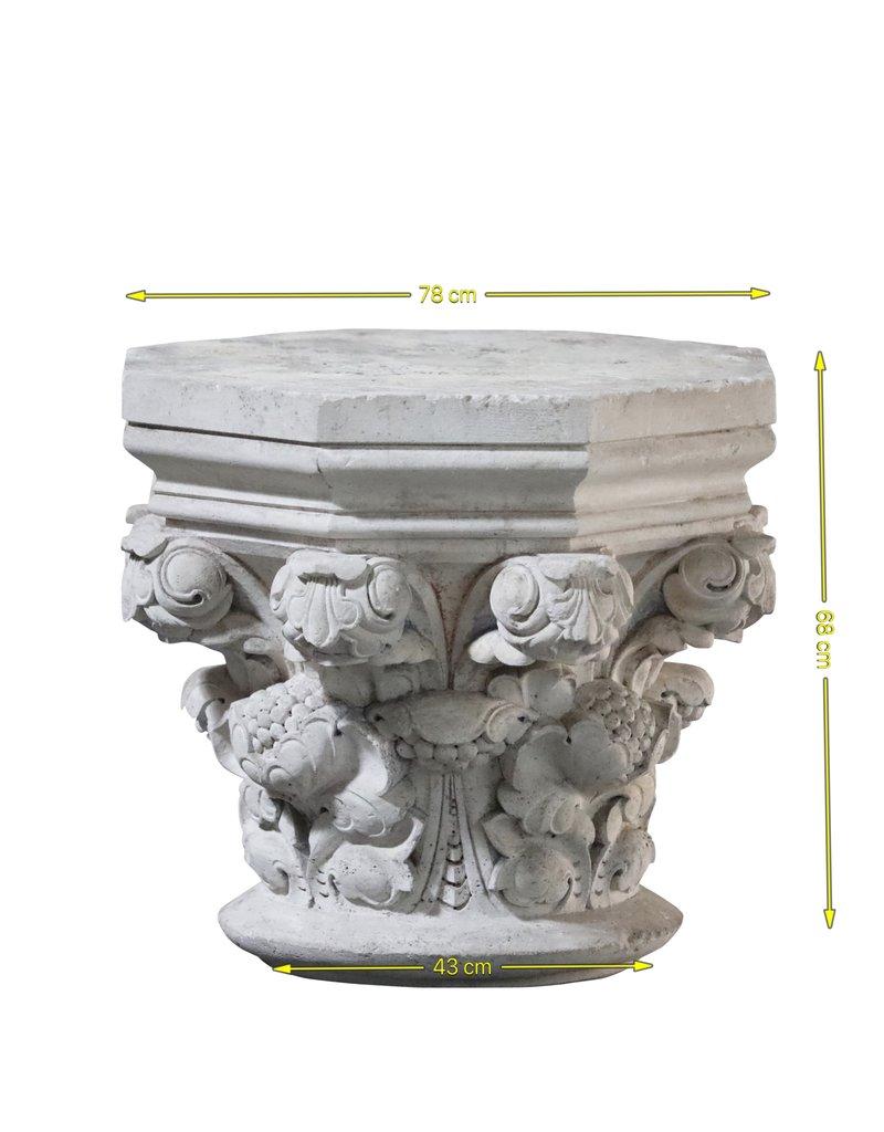 Lápida De Columna