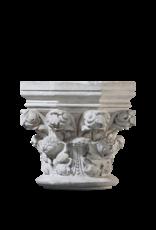The Antique Fireplace Bank Originaler Säulengrundstein