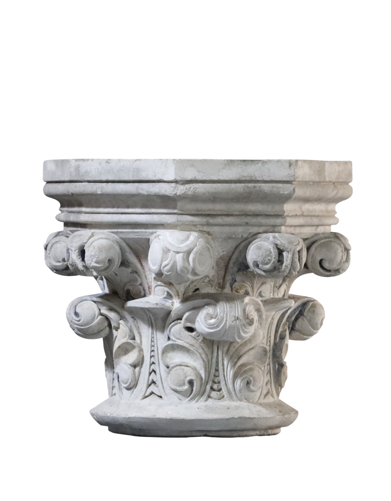 Maison Leon Van den Bogaert Antique Fireplaces & Vintage Architectural Elements Column Headstone