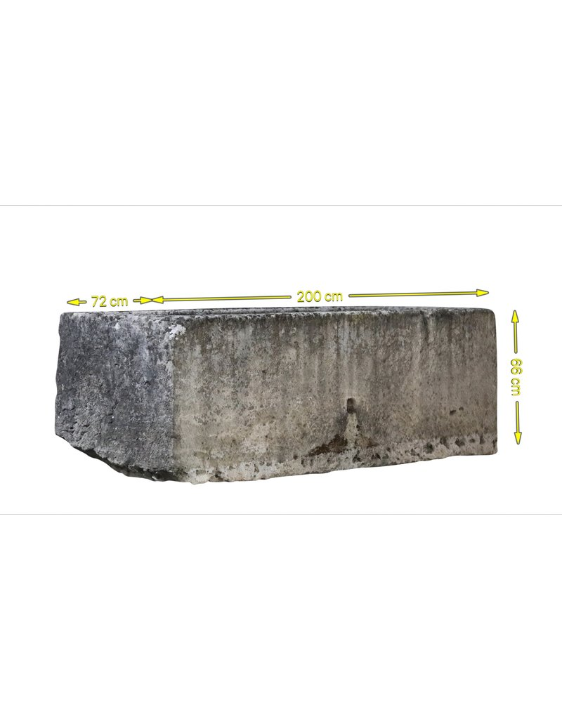 Grand Reclaimed French Drinking Trough