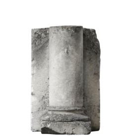 Columna De Piedra Caliza
