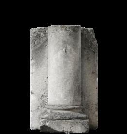The Antique Fireplace Bank Limestone Column