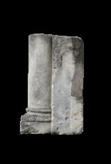 Columna De Piedra Caliza Antigua