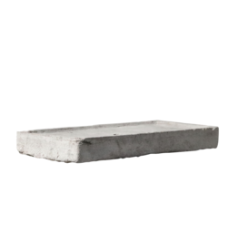 Reclaimed Limestone Sink Fragment