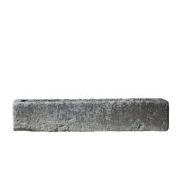 The Antique Fireplace Bank Rustic French Limestone Trough