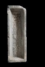 The Antique Fireplace Bank Antike Viehfütterungswanne im Kalkstein