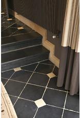 Antique Black Belgian Marble Tiles