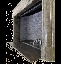 The Antique Fireplace Bank Belgischer Grauer Terrakotta Kamin Verkleidung