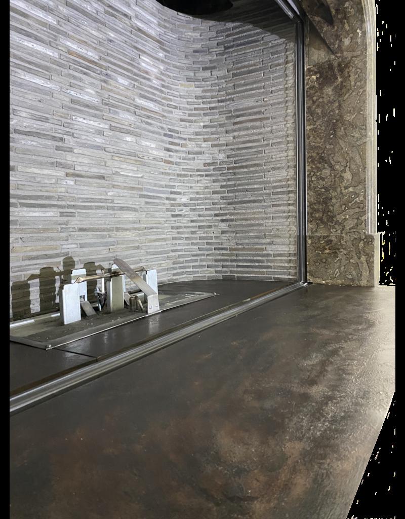 The Antique Fireplace Bank Belgian Grey Terra Cotta Roof Tiles Firebrick