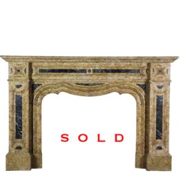 Belgian Late 19Th Century Fireplace Surround